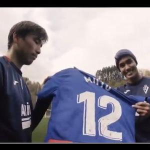 【2021/05/16締切】:SDエイバル 武藤嘉紀選手サイン入りユニフォームが当たる!