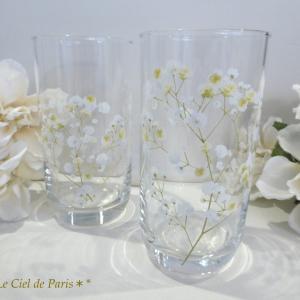 **サロン再開のお知らせ&初夏にピッタリの美しいグラス作品( *´艸`)**