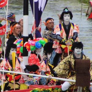 次は10年後!! 水都松江の船祭り開催中です!!