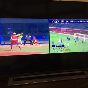 TV観戦【オリンピック】今時のTVは凄いわ!