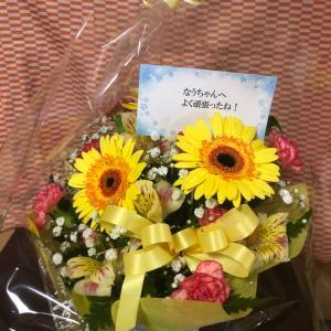 *なう*  ♡たくさんのお花が届いています♡