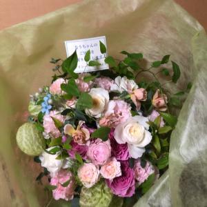 *なう* 綺麗なお花をありがとうございます。