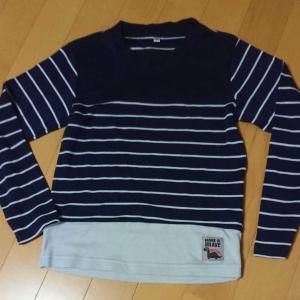 メルカリで、秋物の服が売れて配送しました。