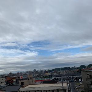 不安定な空模様