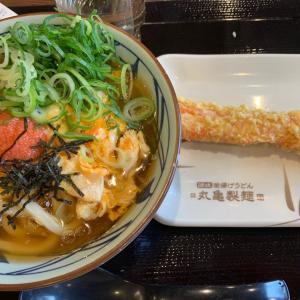 丸亀製麺デビュー