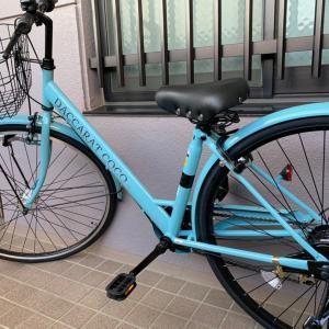 ピカピカの自転車