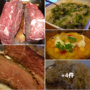 肉:肉:肉・ステーキ三昧に満腹だぁ ^^!