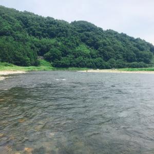 今日の那珂川