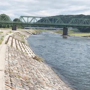 出水引水の那珂川