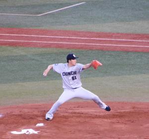 若松駿太投手のニュースを見ました。