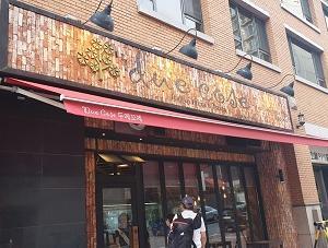漢南洞にあるピザとパスタのお店「due cose」