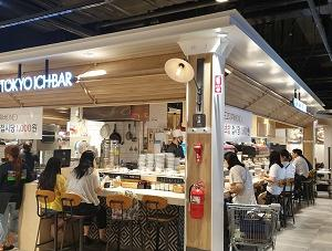 美金駅近くの1,000won/皿の回転寿司「TOKYO ICHIBAR」(도쿄이찌바) ← おそらく東京市場