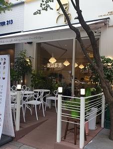 (新)盆唐線 亭子駅近くにあるカフェ「DESSERT 39 亭子駅店」(디저트39 정자역점)