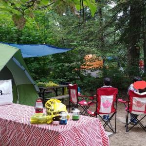 キャンプ@Oastler Provincial Park
