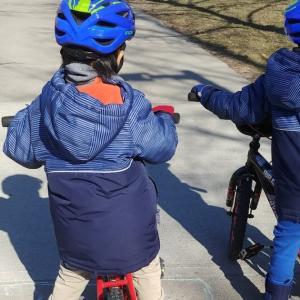 自転車の再生
