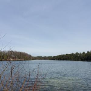 湖畔ハイキング