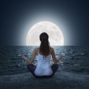 ♪彼岸の日?それとも満月?のメッセージ♪