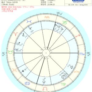 ホロスコープ試し読み~2020年9月17日新月図