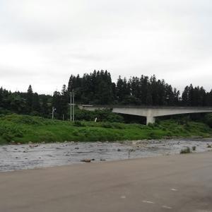下見の最上小国川