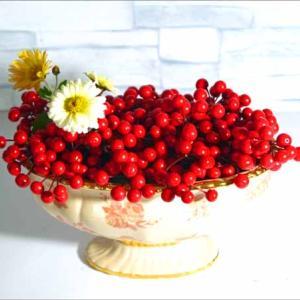 赤い実も、せめて集めて