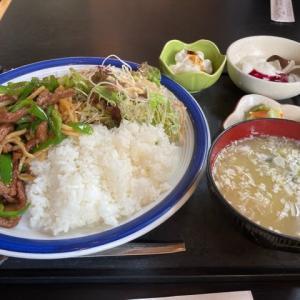上海小町 牛肉定食