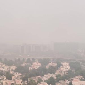 インド デリー首都圏の深刻な大気汚染