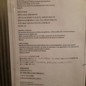 【散歩禁止令】入居中のコンドミニアム(グルガオン)の様子