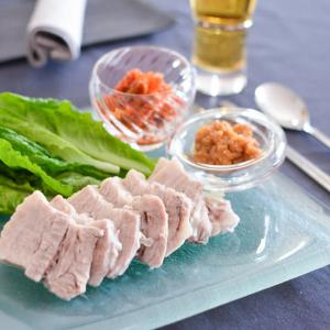 旅するおうちごはん♪韓国料理よりポッサム