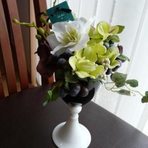 """""""【L'abricot Berrys Coase】ブラック&ホワイトのワイングラス①レッスン"""""""