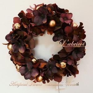 クリスマスイブイヴこのリースは年中、飾っています。見るたび、皆さんにこれも...
