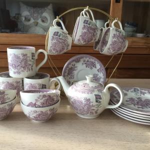 【バーレイ陶器】アジアティックフェザンツ ブログで販売会