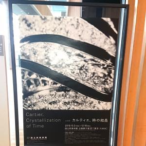 カルティエ時の結晶展
