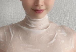首元・デコルテ専用のシートマスク。貼るプロテオグリカン【ハーリスネックシートマスク】