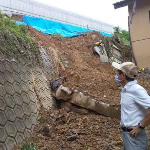 土砂崩れの危険は現実のもの