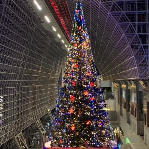 京都駅ビル イルミネーション2019