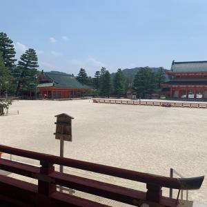 夏休みとは思えないほど静かな京都