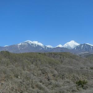 また白くなった八ヶ岳