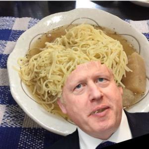 スープがボリス・ジョンソンに見える訳(笑)