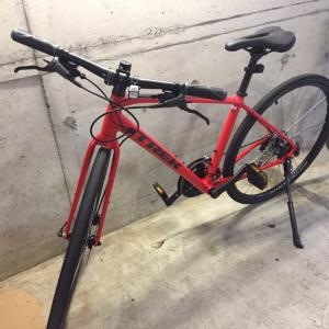 突然サイクリング自転車購入