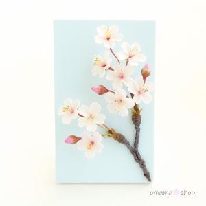 桜一枝と春空  オママショップ追加情報