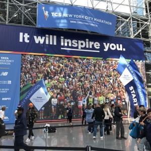 2019 TCS New York City Marathon ①