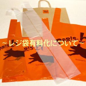 レジ袋有料化について
