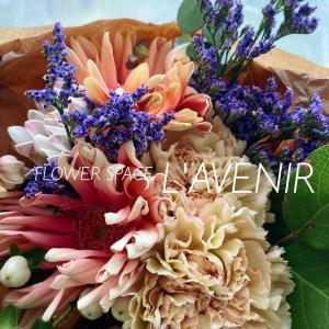 【母の日】花瓶付き花束♪♪
