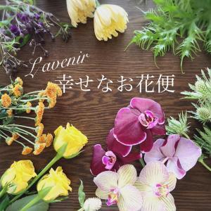 ラ・ヴニールのお花の定期便『幸せなお花便』