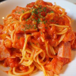 オビソ特製トマトチーズスパをゆちょぺんが作ると?