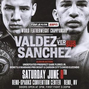 《WBO世界フェザー級タイトルマッチ》6月8日(日本時間9日)米国/No.957