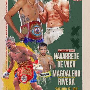 《WBO世界Sバンタム級タイトルマッチ》8月17日(日本時間18日)米国/No.980