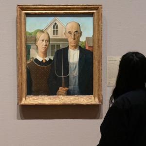 アメリカン・ゴシック(グラント・ウッドの絵画)の家族