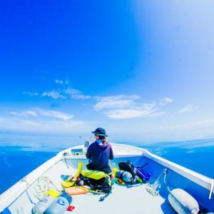 空と海の境界線はどこに。