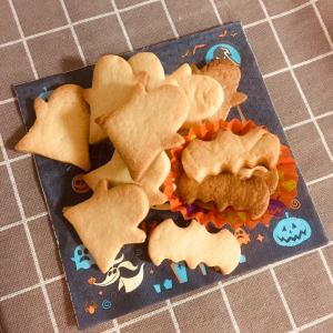 バタークッキーと、メレンゲクッキー同時作りで無駄ナシ
